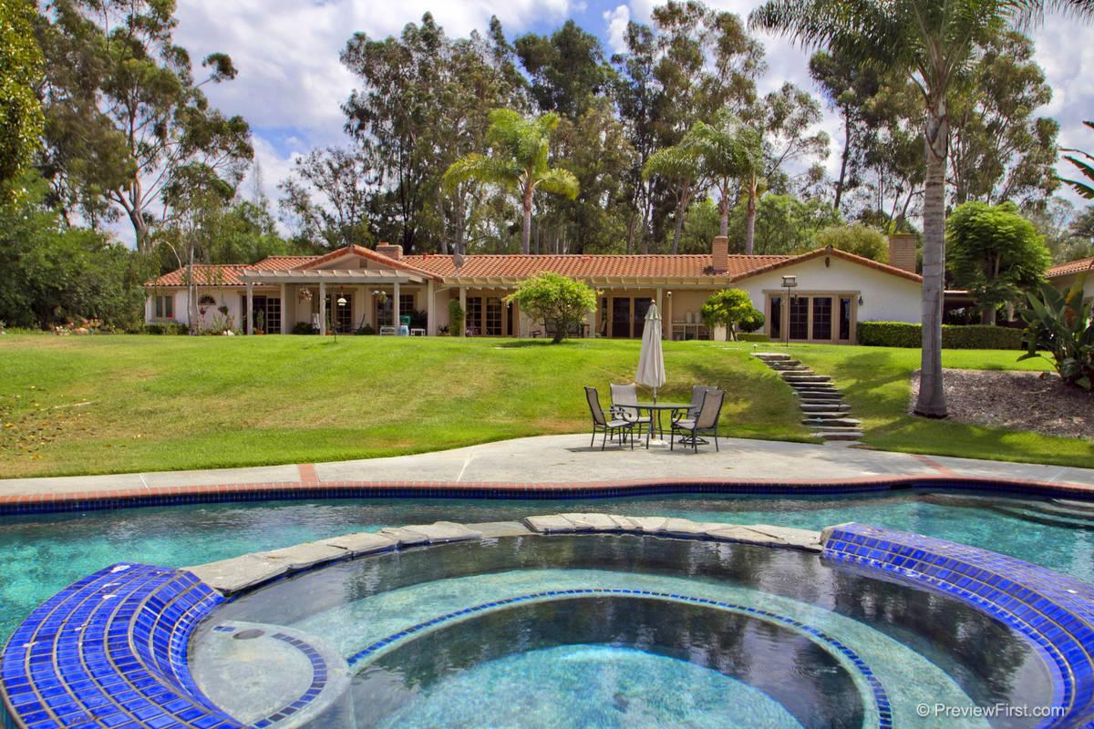 Sold 2013 -  Rancho Santa Fe, CA 92067