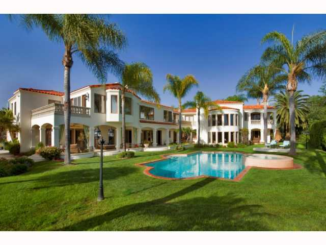 Sold 2013 -  Rancho Santa Fe, CA 92067